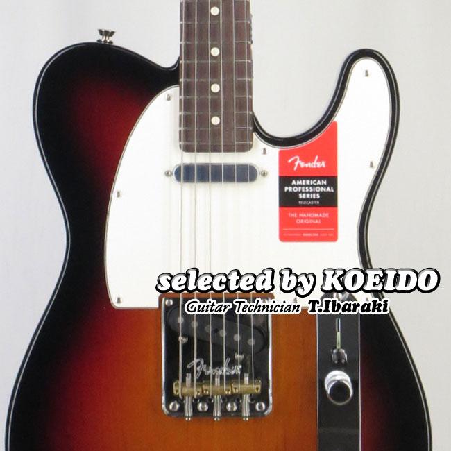 【New】Fender USA American Professional Telecaster 3CS/R(selected by KOEIDO)店長厳選、命を持つ別格の一本!