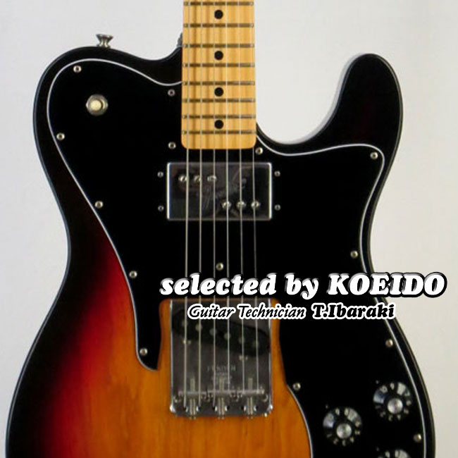 Fender フェンダー USA Custom Shop'72 Closet Classic Custom Telecaster 3CS/M(selected by KOEIDO)店長厳選、別格の生きた72!しかも軽量!