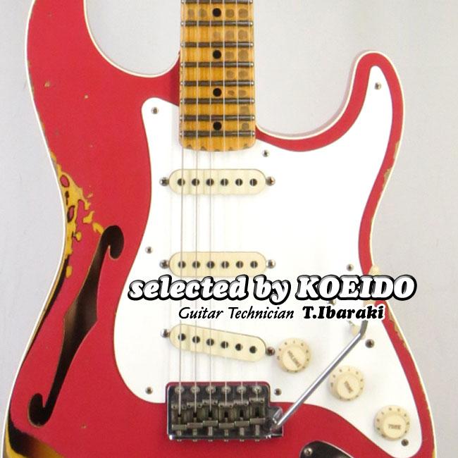 【最安値に挑戦】 Fender Fender Custom Shop LTD LTD NAMM '56 Stratocaster Stratocaster Thinline Relic ACPoC2B(selected by KOEIDO)店長厳選NAMM限定ストラト!フェンダー 光栄堂, clovershop:9cae90de --- agrohub.redlab.site