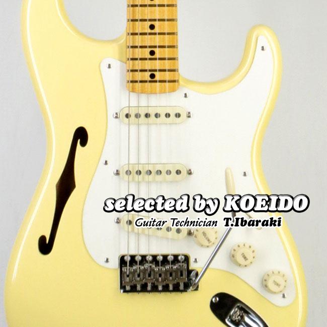 【New】Fender フェンダー USA Eric Johnson Stratocaster Thinline VWH(selected by KOEIDO)店長厳選、命を持つ別格のEジョンソン・シンライン!