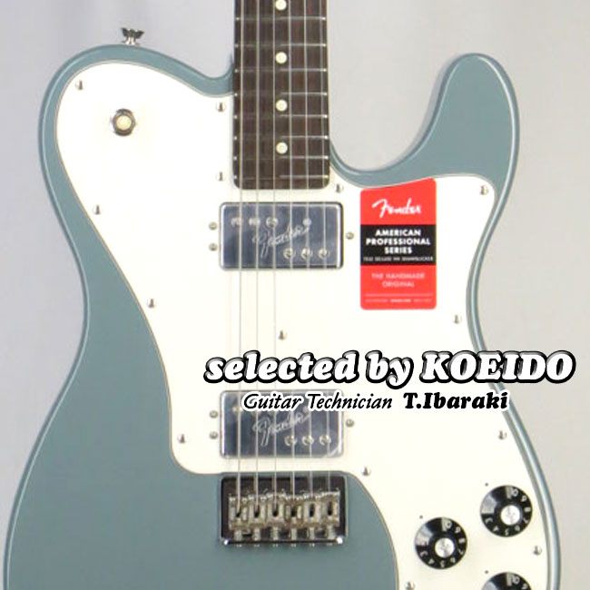 Fender フェンダー USA American Professional Telecaster Deluxe Shawbacker SNG/R(selected by KOEIDO)店長厳選、生きた別格の最新プロフェッショナル!