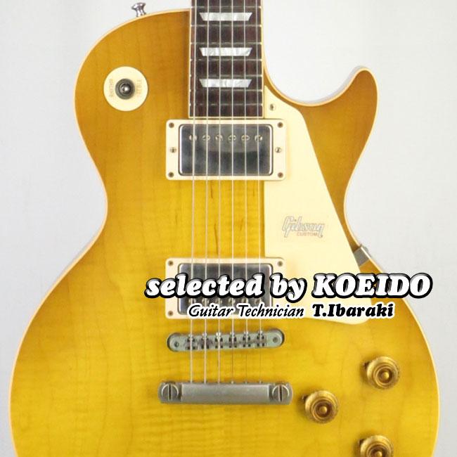 【New】Gibson Historic 1958 Les Paul Standard Honey Lemon Fade VOS (selected by KOEIDO)店長厳選ヒストリック58!群を抜く生きたトーンとレスポンス!