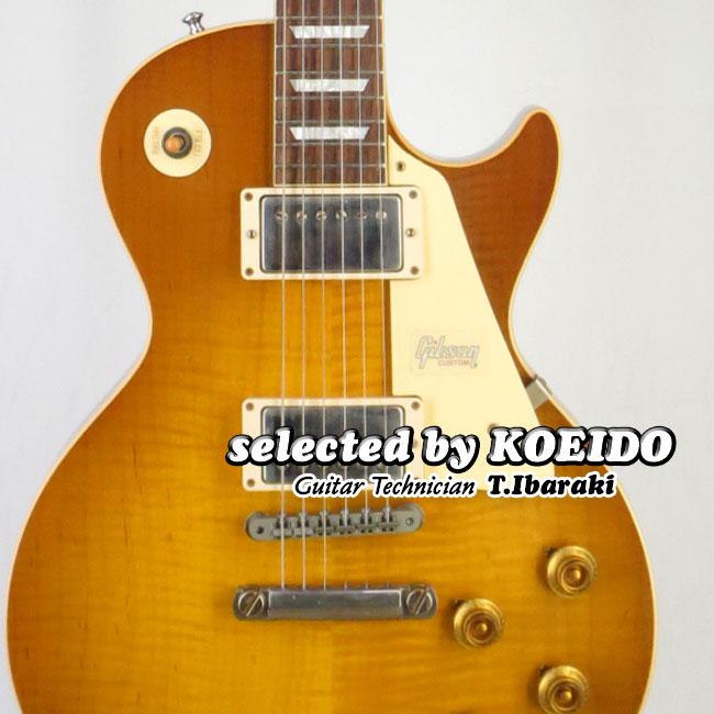【New】Gibson Historic 1958 Les Paul Standard HRM VOS Dark Dirty Lemon(selected by KOEIDO)店長厳選ヒストリック58!群を抜く生きたトーンとレスポンス!