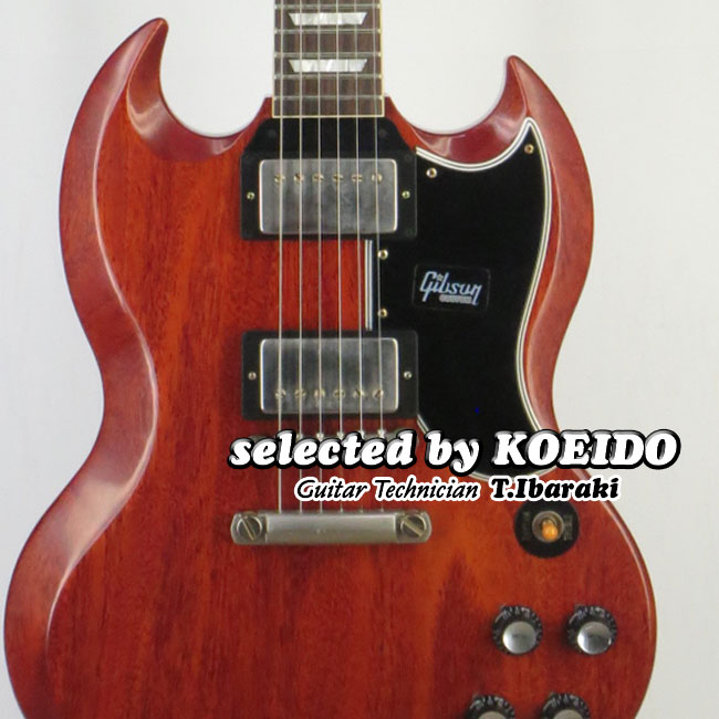 【New】Gibson Historic 61 SG Standard VOS Faded Cherry(selected by KOEIDO)店長厳選ヒストリックSG!別格の艶やかに歌うトーン!