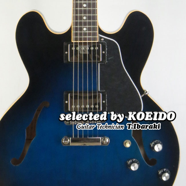 【New】Gibson ES-335 DOT 2018 Blues Burst(selected by KOEIDO)店長厳選、命を持つ最新ギブソンES-335 DOT!