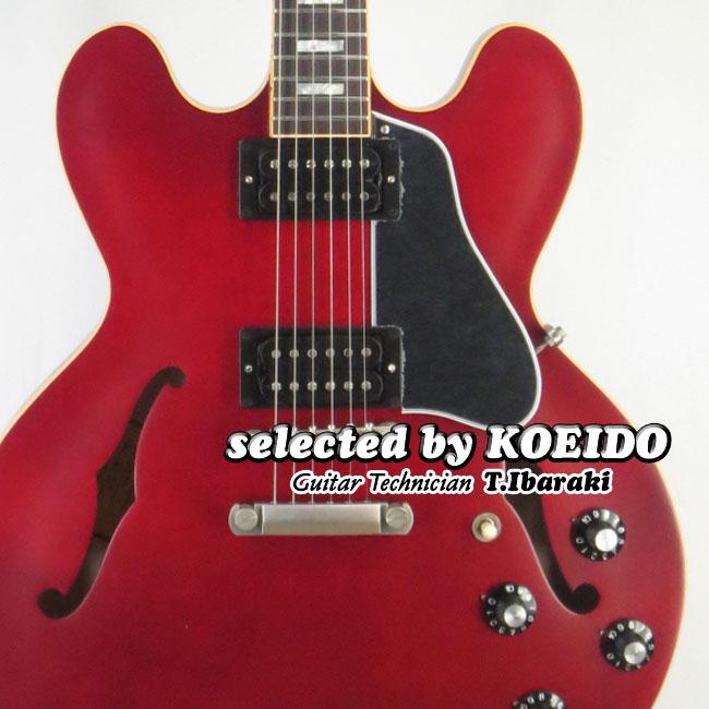【New】Gibson ES-335 2018 Satin Wine Red(selected by KOEIDO)店長厳選、命を持つ限定サテン335!