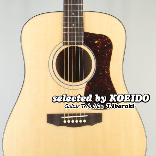 Guild USA D-40 Traditional NAT(selected by KOEIDO)店長厳選、新工場製初のD-40!