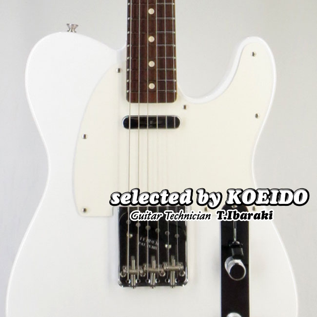 【New】Fender USA Custom Shop 59 Telecaster NOS WBD(selected by KOEIDO)店長厳選、命を持った別格の59テレキャスター!