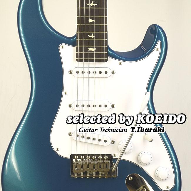 【ラッカー塗装】Paul Reed Smith John Mayer Silver Sky J5 DODGEM BLUE 2020(selected by KOEIDO)店長厳選、別格の命を持つジョン・メイヤー・シルバースカイ!