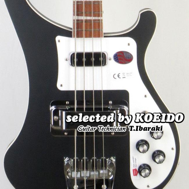 Rickenbacker 4003 MBL(selected by KOEIDO)リッケンの新色マットブラック!店長厳選命を持つ別格の4003!