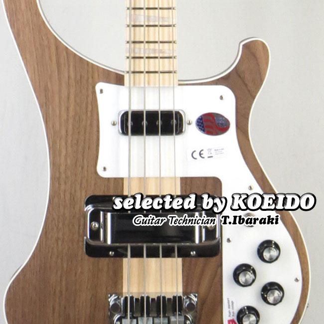 Rickenbacker 4003 Walnut(selected by KOEIDO)店長厳選!群を抜く命を持つウォルナット4003!