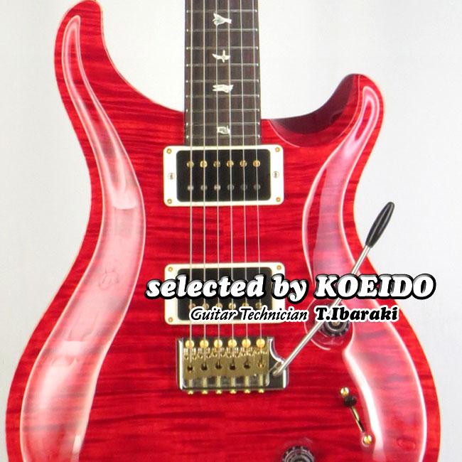 Paul Reed Smith Custom24 Ruby 10 PR(selected by KOEIDO)店長厳選!命を持つ別格のルビー10!