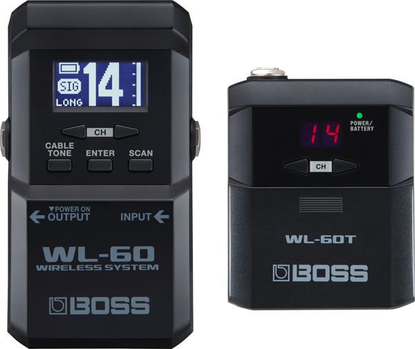 BOSS WL-60 ギターワイヤレスシステム【送料無料】