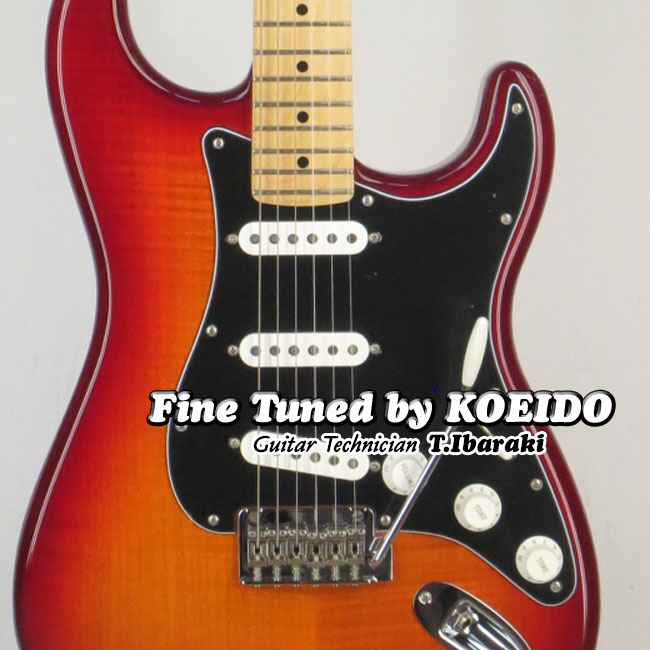 Fender MEXICO Player KOEIDO) Stratocaster ACB/M(Fine PLUS ACB/M(Fine tuned by by KOEIDO) エレキギター ストラト【フェンダーストラッププレゼント&レビュー特典付き!】ストラトキャスター, オートプロズ:f3f736a4 --- data.gd.no