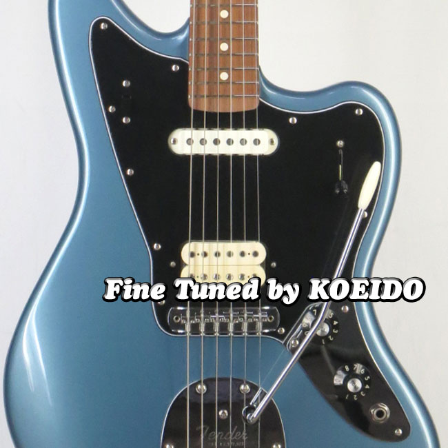 Fender MEXICO Player Jaguar TIP/RW(Fine tuned by KOEIDO) エレキギター ジャガー 【フェンダーストラッププレゼント&レビュー特典付き!】