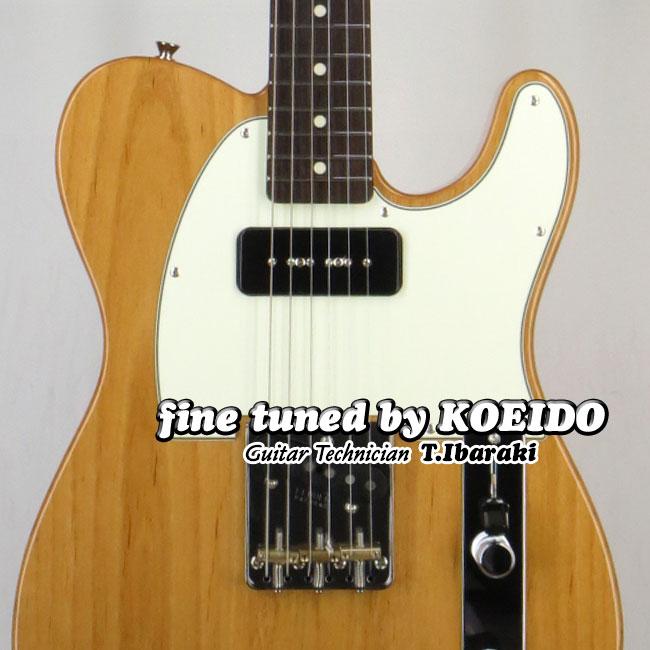 【New】Fender Made in Japan FSR Hybrid 60s Telecaster P-90 VNT(Fine Tuned by KOEIDO)【送料無料】【フェンダーストラップ&レビュー特典付き】