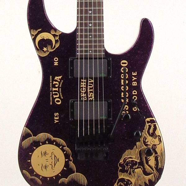 Metallica Ouija Guitar Top Nero