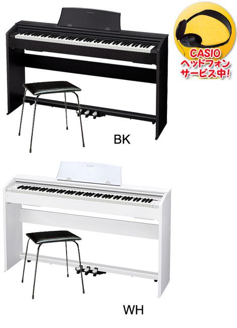 CASIO PX-770 Privia【CASIOピアノイスCB-5&ヘッドフォン付き】 【電子ピアノ】【送料無料】【代引き不可】