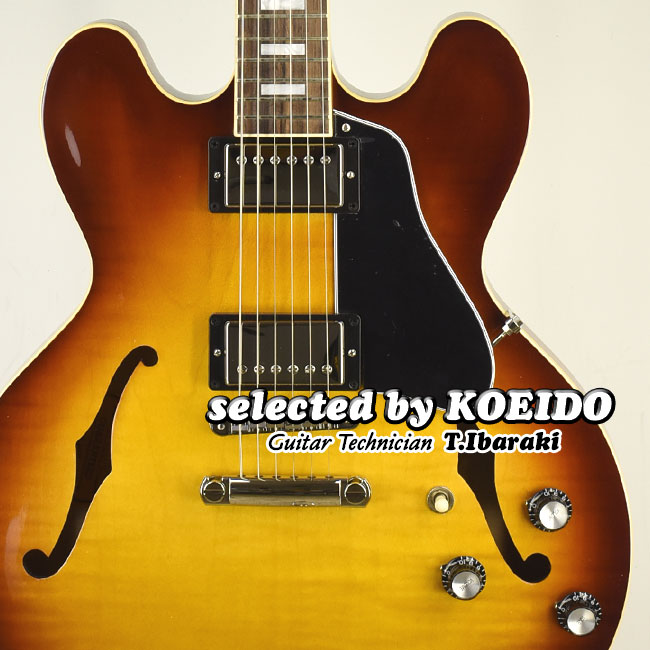 国産品 Gibson ES-335 Figured Iced Tea(selected by KOEIDO)店長厳選別格の命を持つ最新335!, 株式会社GSC ebbc8523