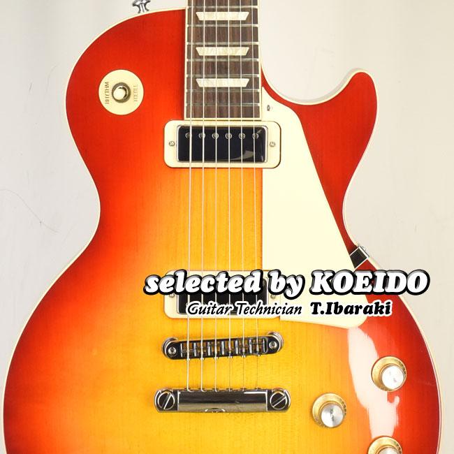 New 市販 Gibson Les Paul Deluxe 70s Cherry Sunburst selected 2021 ギブソン ふるさと割 光栄堂 店長厳選2021命を持つ別格のデラックス KOEIDO by