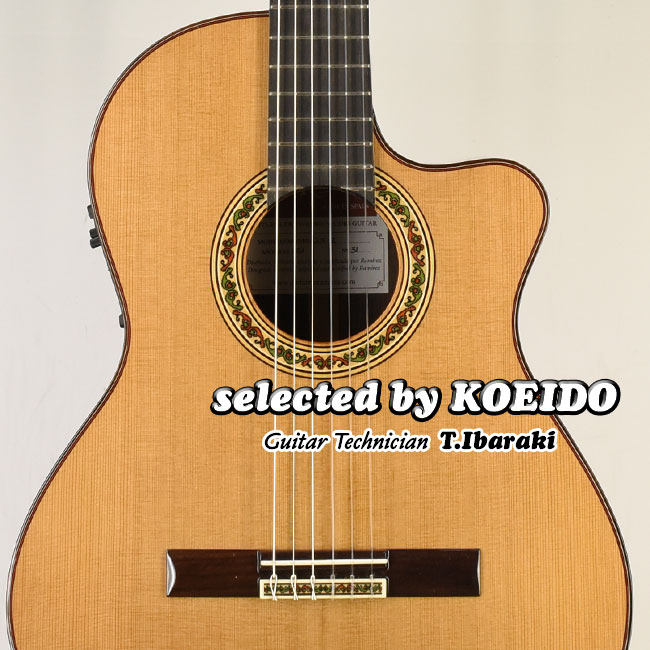 【New】Jose Ramirez Estudio Cut2 Ceder(selected by KOEIDO)店長厳選、生きたレスポンスと群を抜くトーン!驚きの新価格!