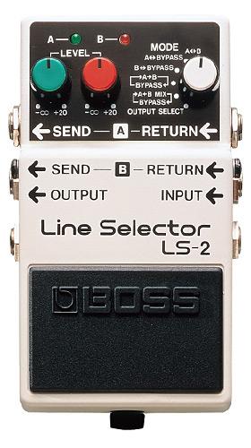 BOSS LS-2 Line Selector【送料無料】【smtb-tk】