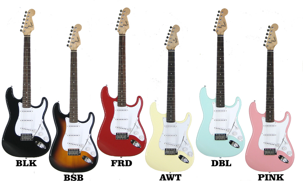 Squier Bullet with Tremoloエレキギター入門10点セット ギター 初心者セット【レビュー特典付き】【ギター通販】【エレキギター初心者】【最適調整済み】