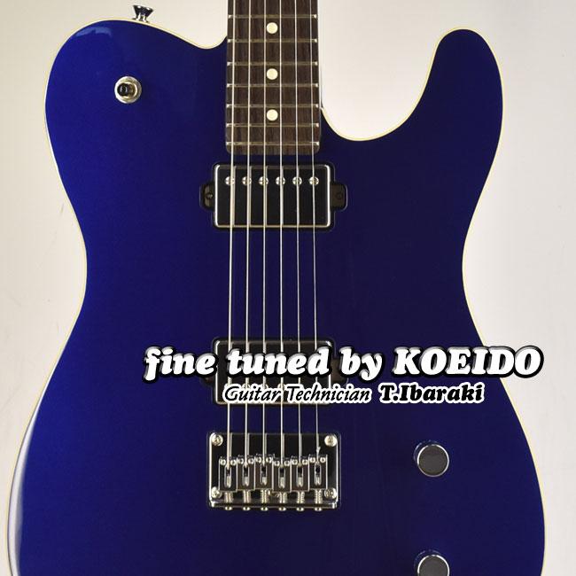【New】Fender Made in Japan Modern Telecaster HH Deep Ocean Metallic(Fine Tuned by KOEIDO)【フェンダーストラップ&レビュー特典付き】