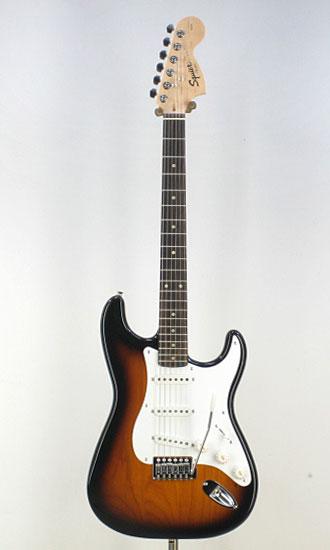 Squier Affinity Stratocaster BSB/R エレキギター ストラト 【ストラップ&シールドサービス中!】【送料無料】【smtb-tk】