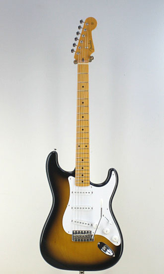 Fender Japan Exclusive Classic 50S Strat 2TS(Fine Tuned by KOEIDO) エレキギター ストラト 【送料無料】【フェンダーストラップ、コンパクトギタースタンド&レビュー特典付き】ST57 2TS