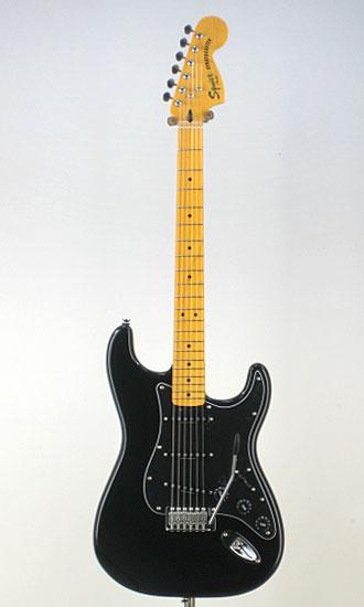 Squier Vintage Modified '70s Stratocaster BLK/M エレキギター ストラト 【ストラップ&シールドサービス中!】【送料無料】【smtb-tk】