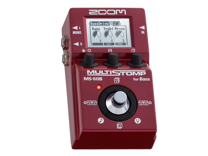 ZOOM MULTI STOMP MS-60B for Bass【送料無料】