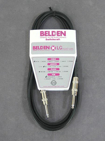 belden x Liquid Gain #9778 3m SS【送料無料】【定形外郵便発送】