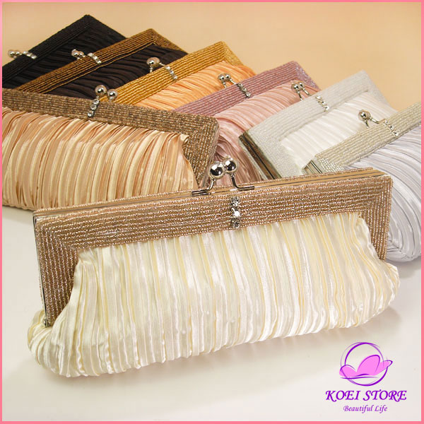 Wedding parties bags party bags party bag wedding bag beads all 8 colors clutch bag invited clutch party back bridal wedding reception 3.