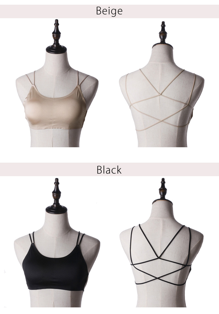 Camisole inner sexy tube top tube top simple sexy inner kids dance party Slinky dress black and white black stretch Yoga underwear layered ladies adults