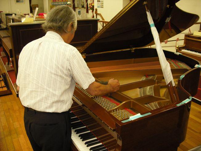 【定期調律】 グランドピアノ