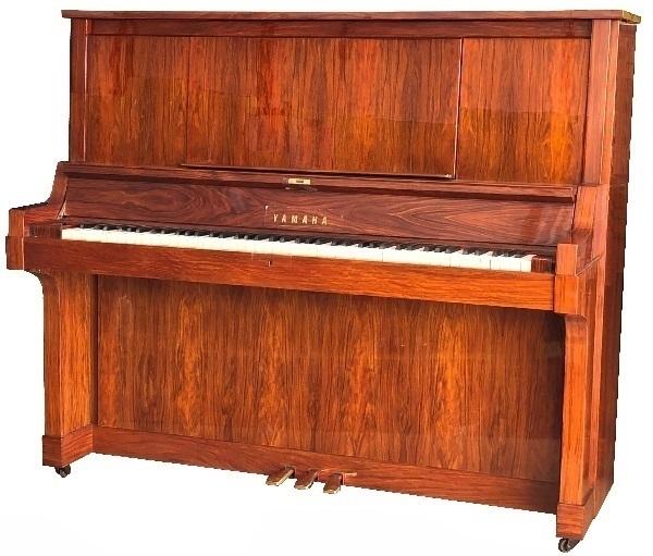 【中古再調整品アップライトピアノ】ヤマハ W101<全塗装>