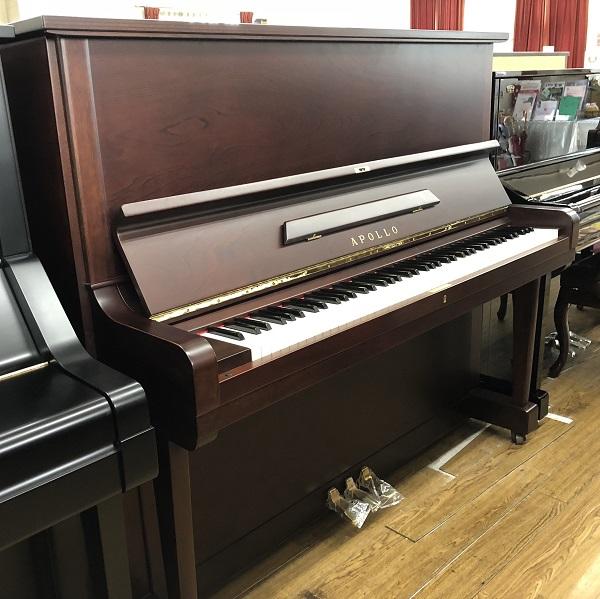 【中古再調整品アップライトピアノ】アポロ A.350