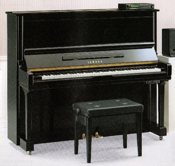 【中古再調整品アップライトピアノ】ヤマハ HQ300SXG