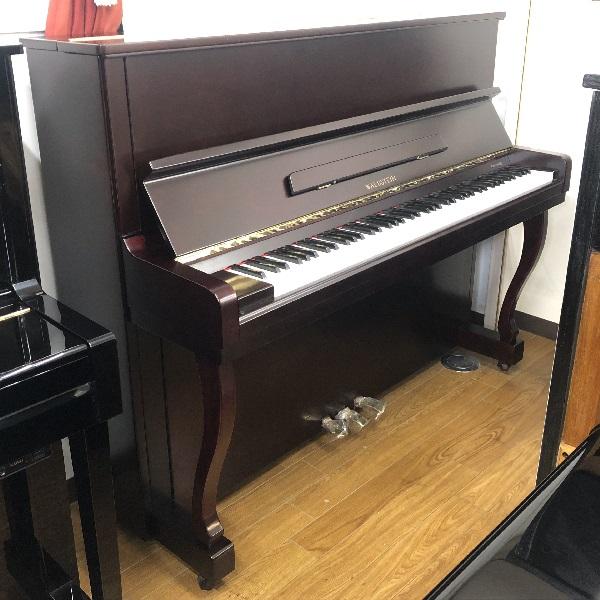 【中古再調整品アップライトピアノ】ワルトシュタイン 120W