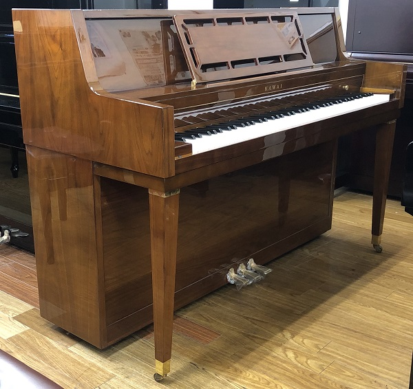 【中古再調整品アップライトピアノ】カワイ・コンソール(輸出用モデル)
