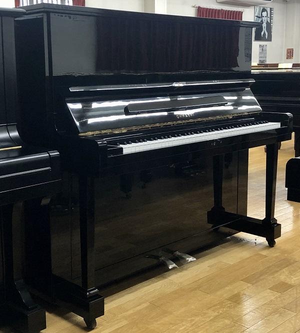 【中古再調整品アップライトピアノ】<BR>オオハシ No.132B
