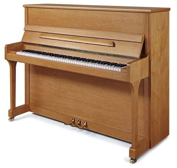 【新品アップライトピアノ】 レーニッシュ 118K<アルダー>