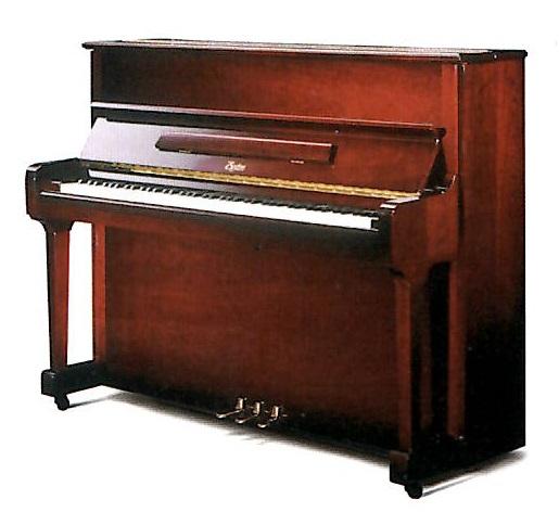 【新品アップライトピアノ】ボストン UP-118E PE<マホガニー艶出し塗装仕上げ>