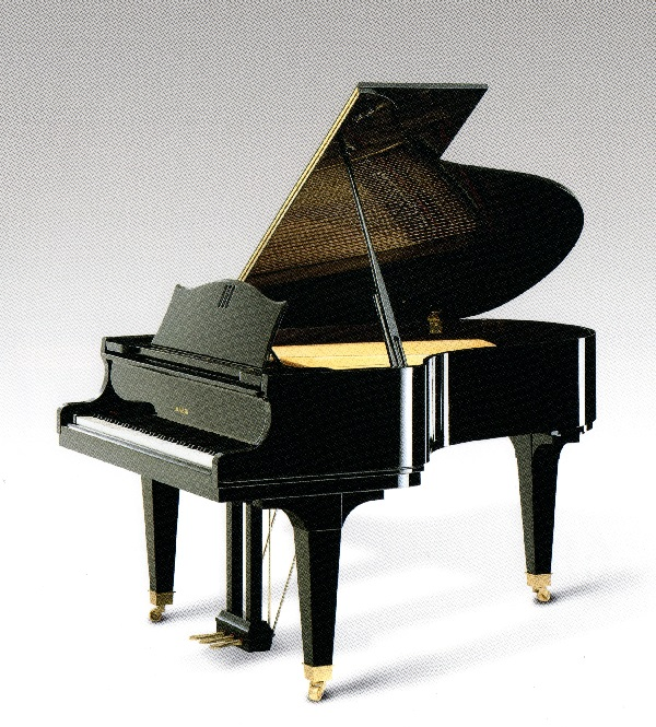 【新品グランドピアノ】 ディアパソン DR-5<黒檀黒鍵特注モデル>