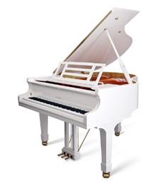 【新品グランドピアノ】 フォイリッヒ Mod.178Professional<ホワイト特注>