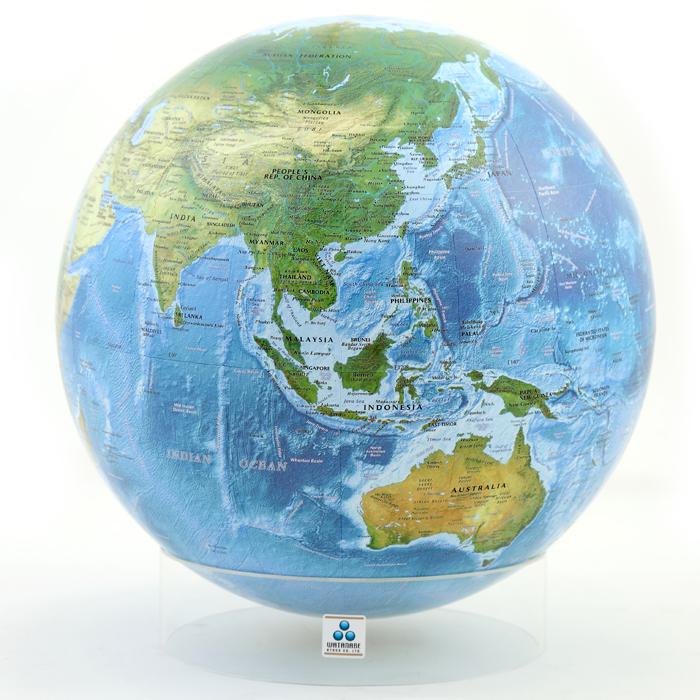 ラ・メール海洋タイプ地球儀 (英文タイプ)