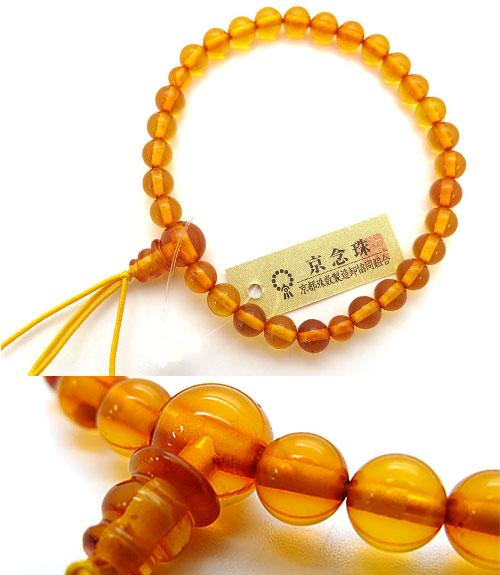 琥珀 腕輪 送料無料 天然琥珀 6mm ブレスレット 限定 アンバー お守り 数珠