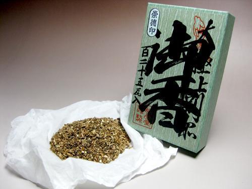 【五種香】焼香 崇徳印 125g入