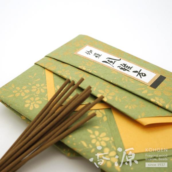 Incense source incense cafe original agila wood culture incense mini-寸桐箱入